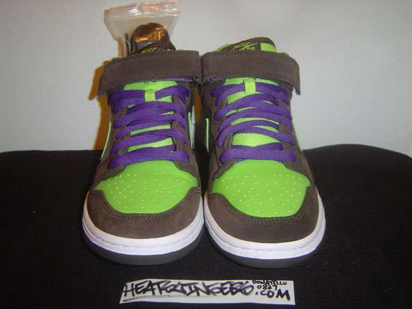 1a443a39f74 Product code  314383 231. Donatello Dunk Mid Pro SB baroque brown radiant  green